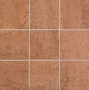 Custom Made Eucalyptus Burl Tiles