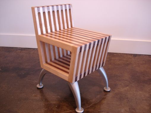 Custom Made Small Chair With Under Storage