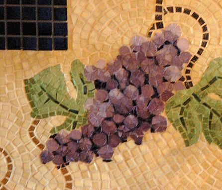 Custom Made Grapevine Mosaic