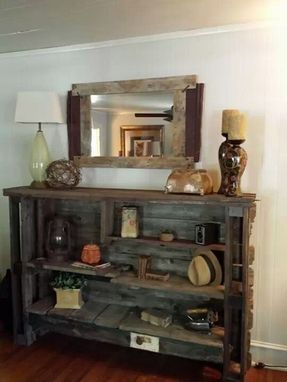Custom Made Custom Reclaimed Bookcase
