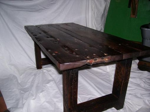Custom Made Boat Wood Table