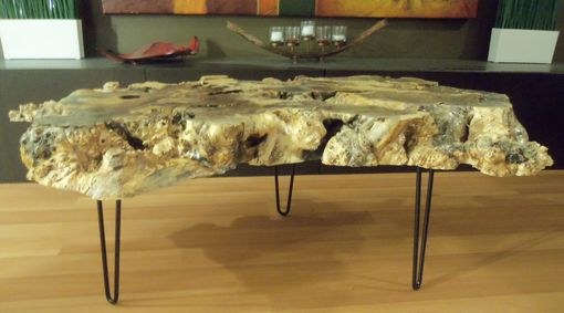Custom Made Buckeye Burl Coffee Table By Ozma Design