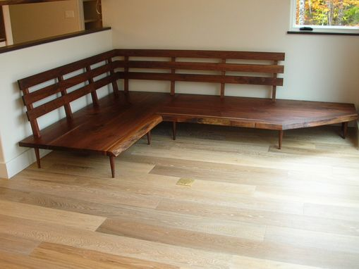 Custom Made Walnut Settee