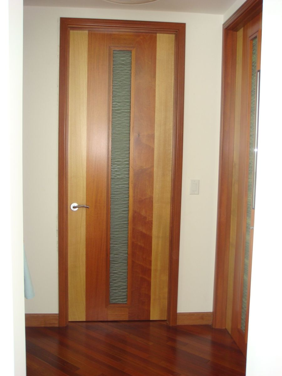 Handmade european modern interior wood doors by deco Modern glass doors interior