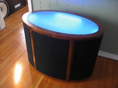 Custom Made Speaker Table