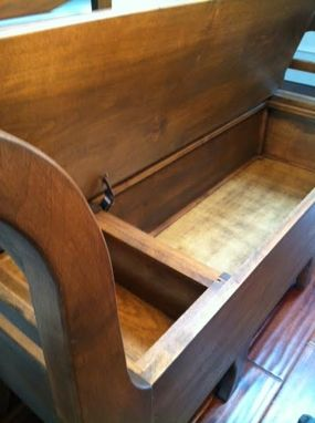 Buy A Hand Crafted Swedish Entry Foyer Bench With Seat