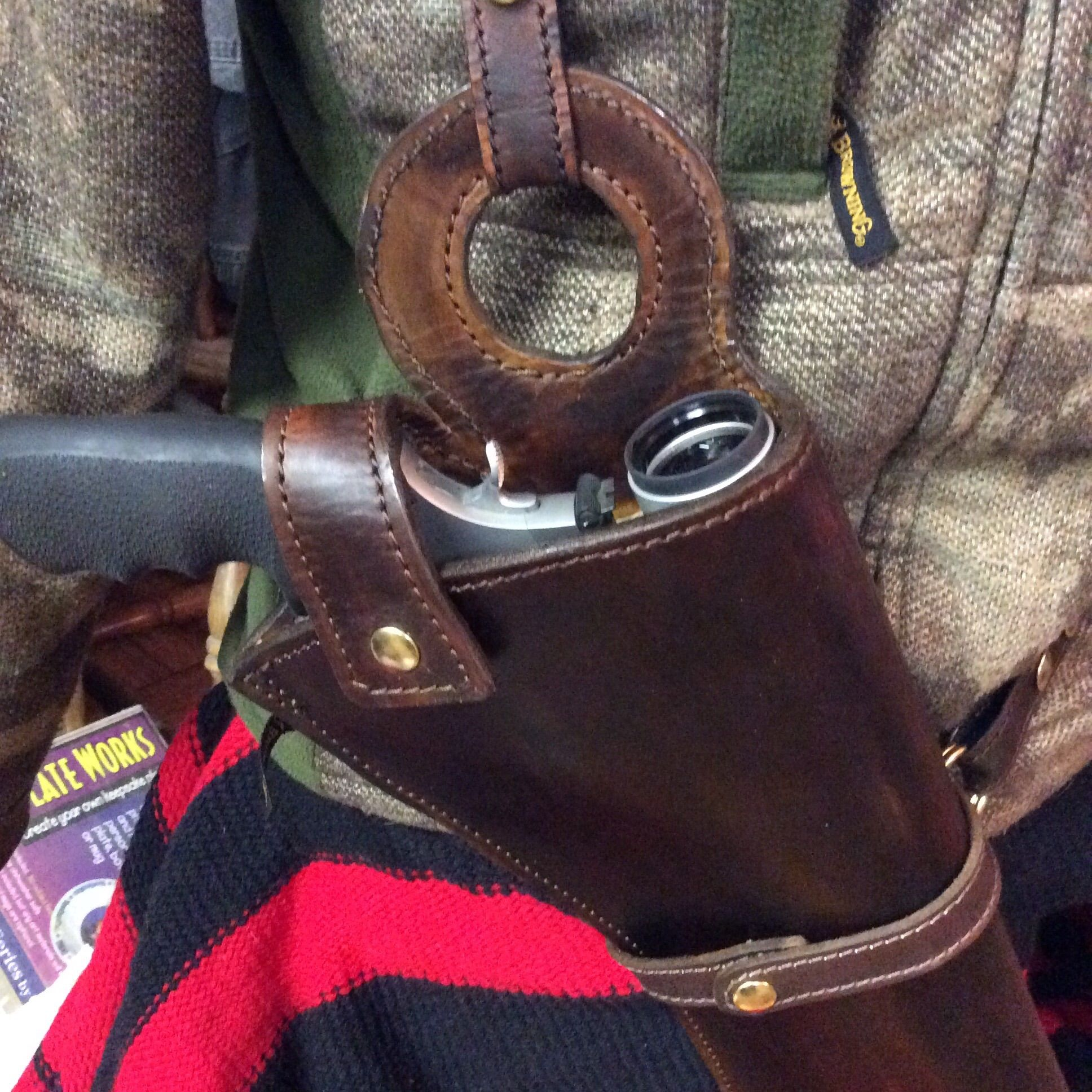 Buy A Hand Made X Large Frame Scoped Revolver Holster