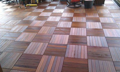 Custom Made Ipe Flooring