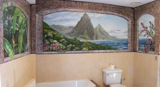 Custom Made Larrys Bathroom