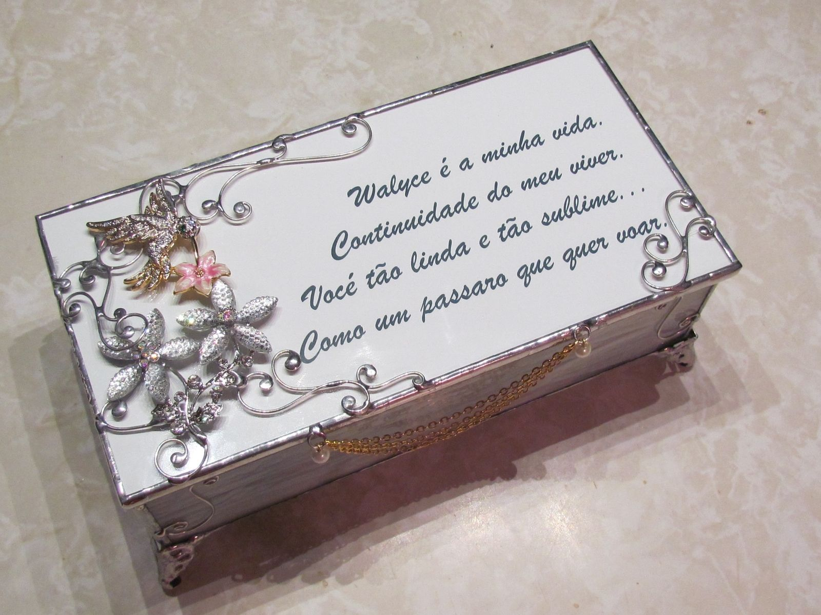 Customized Jewelry Box