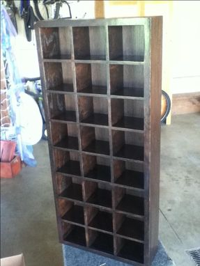 Custom Made Tie Storage