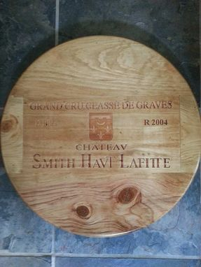 Custom Made Smith Haut Lafitte Lazy Susan