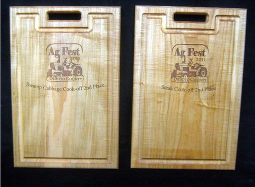 Custom Made Ag Fest 2011 Custom Cutting Board Trophies