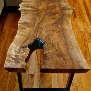live edge wood furniture | custommade