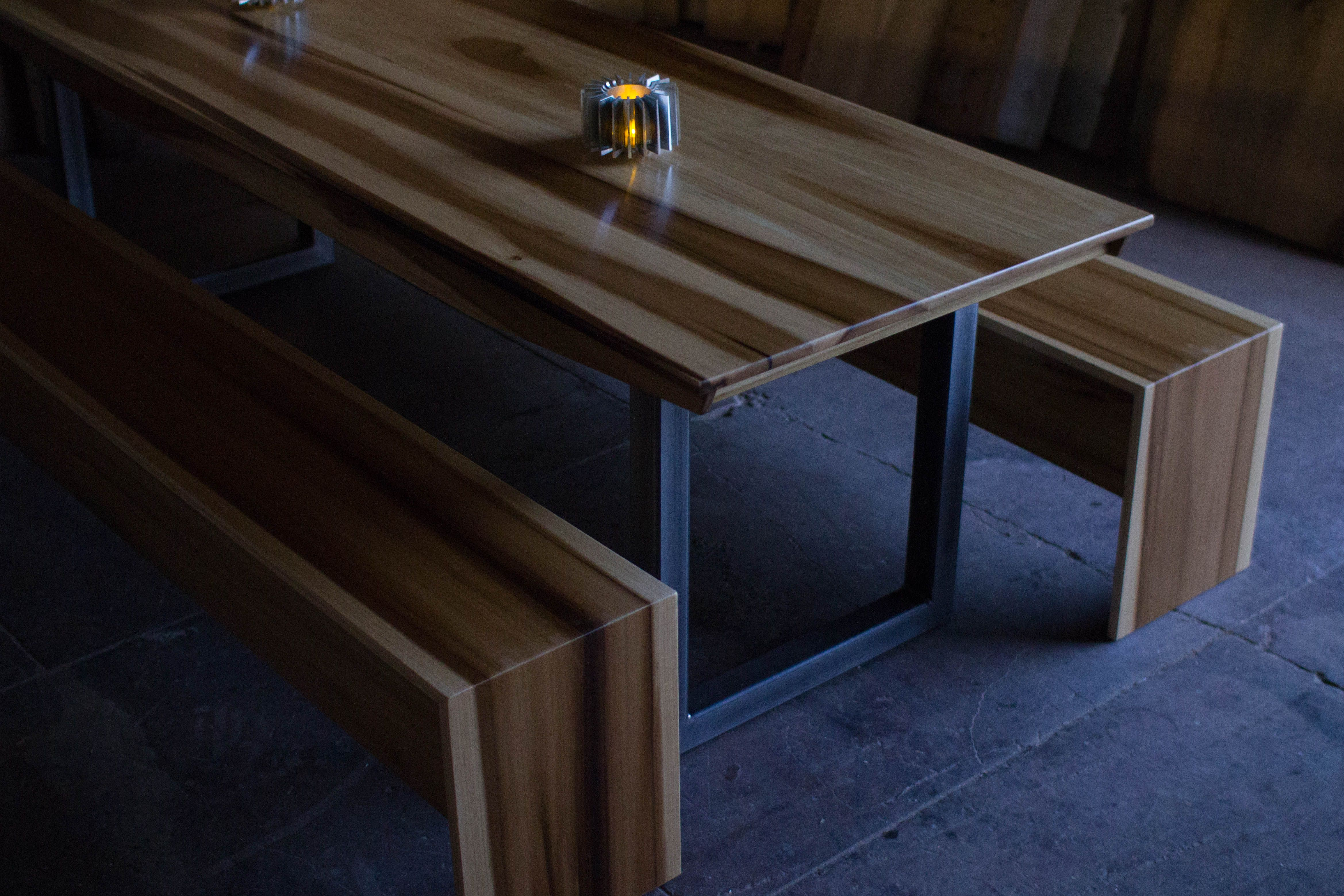 Minimalist Table Buy A Custom Modern Minimalist Dining Conference Table Made To