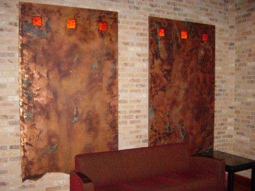 Custom Made Copper Wall Artwork