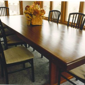 Hand Crafted Dining Room Table Top By AJC Woodworking CustomMadecom - Dining room table protector