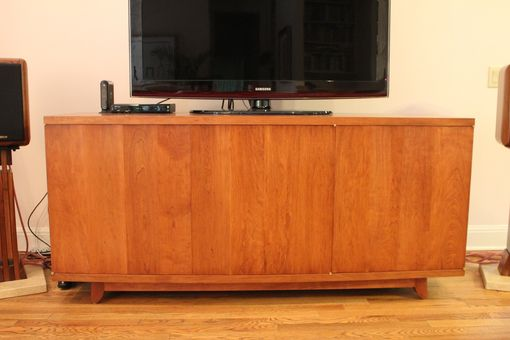 Custom Made Cherry Media Cabinet