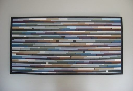 Custom Made Wall Art Modern Wood Sculpture