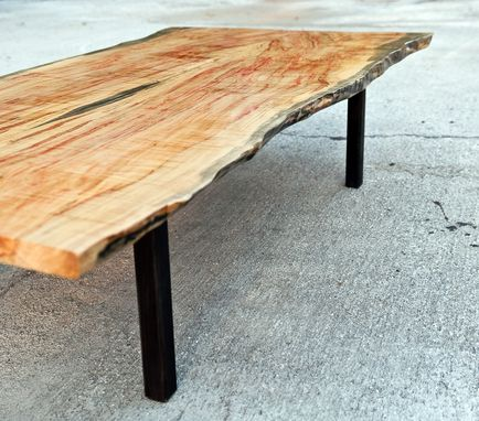 Custom Made Live Edge Garcia Table