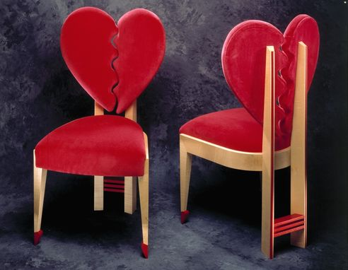 Custom Made Heart Chair