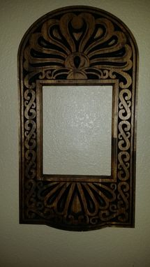 Custom Made Scrolled And Custom Carved Mirror Frames