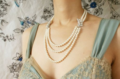 Custom Made Bridal Necklace