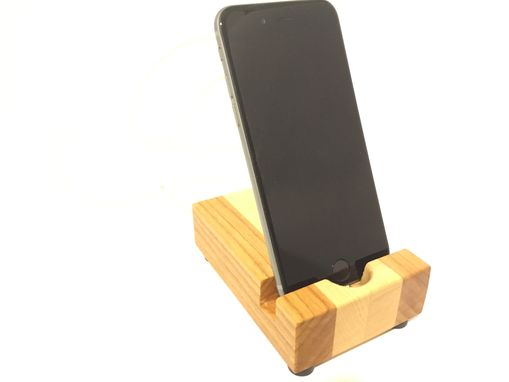 Custom Made Iphone Dock | Smart Phone | Wood Stand Phone Docking Station | Charging Station | Handcrafted