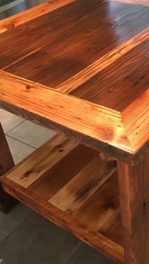 Custom Made Barn Wood Kitchen Island