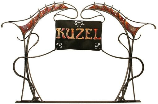Custom Made Sign, Art Nouveau