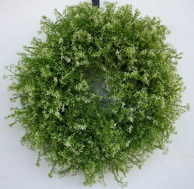 Custom Made White Flower Spring Wreath
