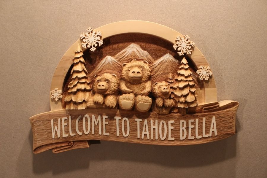 custom hand carved wood signs for home  business  cabin  cottage or any application  by lazy