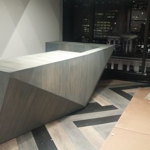 Custom Modern Reception Desk