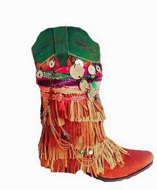Custom Made Adult Customized Gypsy Boots