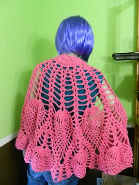 Custom Made Crocheted Pineapple Shawl