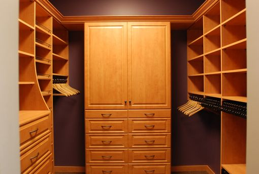 Custom Made Show Room Closet