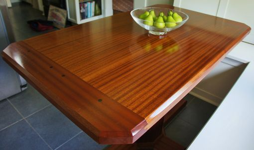 Custom Made Pedestal Kitchen Table