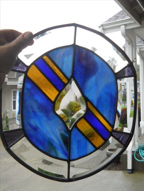 Custom Made Custom Beveled Glass Panel