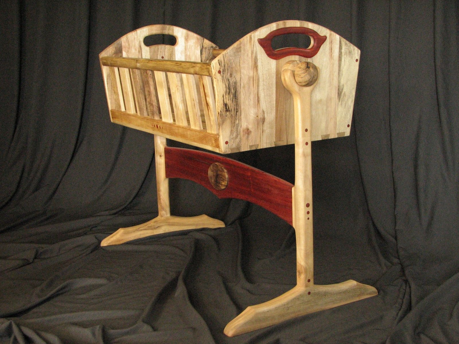 Custom Bassinet By Bearkat Wood