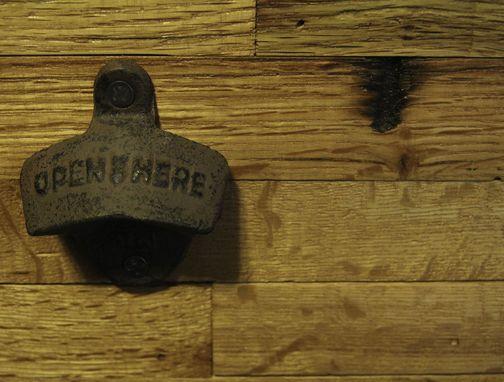 Custom Made Wall Mounted Bottle Opener
