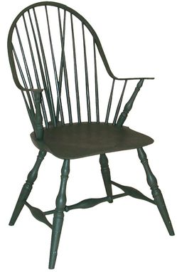 Custom Made Windsor Continuous Arm Chair