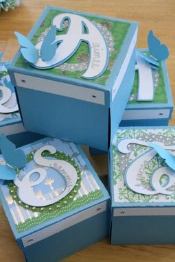 "Custom Made Custom Party Favor ""Explosion Boxes"""