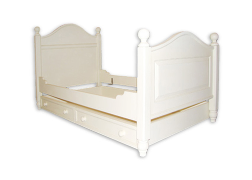 Custom Made Country Stow Bed With Trundle