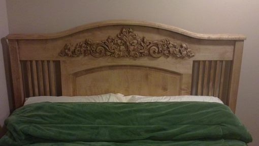 Custom Made Mission Bed