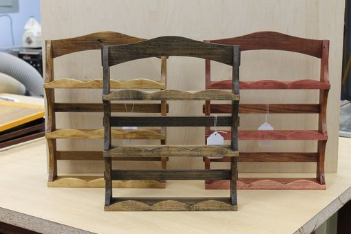 Custom Made Reclaimed Wood Spice Rack