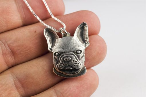 Custom Made Custom Dog Pet Head French Bulldog Jewelry