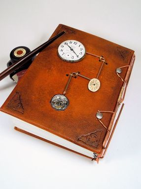 Custom Made Leather Steampunk Journal