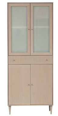 Custom Made Midcentury Modern Armoire