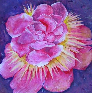 Custom Made Peony Painting