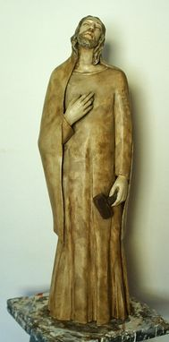 Custom Made St. Joseph In Wood Polychrome
